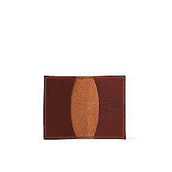 J.W. Hulme Full Grain American Heritage Leather Business Card Case