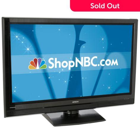 Hitachi 50 1080p Ultravision Plasma Tv Shophq