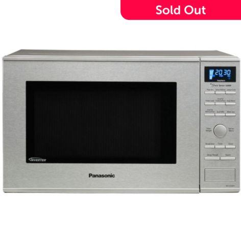 panasonic nn sd681s genius prestige 1 2 cu ft 1200w microwave oven