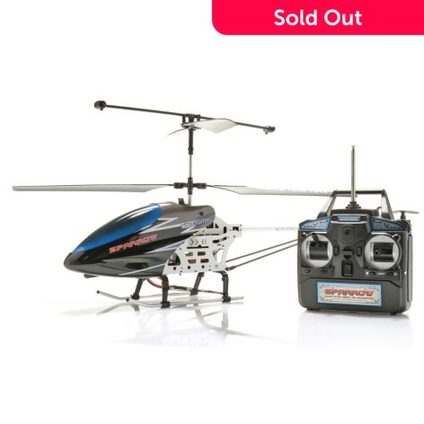 World Tech Toys 31 3 5ch Gyro Metal Sparrow Remote Control Helicopter Shophq