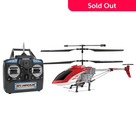 World Tech Toys Spy Hercules Gyro 3 5ch Remote Control Helicopter Drone W Camera Shophq