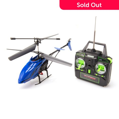 Titan 3 5 Channel Ultra Durable Helicopter W Remote Control Shophq