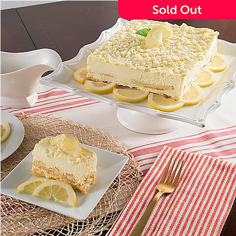 Frankie Avalon Foods Limoncello Mascarpone Cake 3 Lbs Shophq