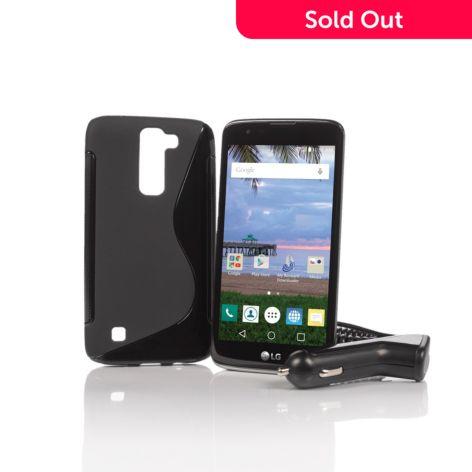 Tracfone Lg Treasure 5 4g Lte 8gb Quad Core Android Smartphone Refurbished Shophq