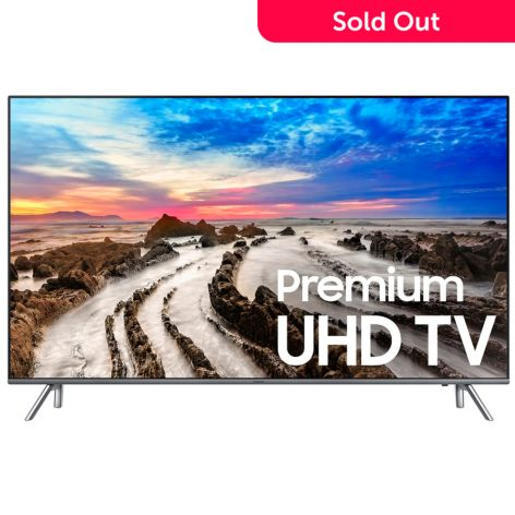 Samsung 4k Uhd 8000 Series Choice Of Size Smart Led Tv W Voice Remote 2 Year Warranty Shophq