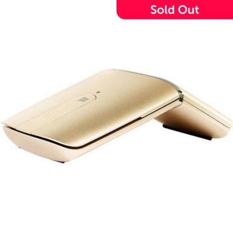 Lenovo Yoga Rechargeable Wireless Dual Function Gold-tone Bluetooth Mouse -  ShopHQ