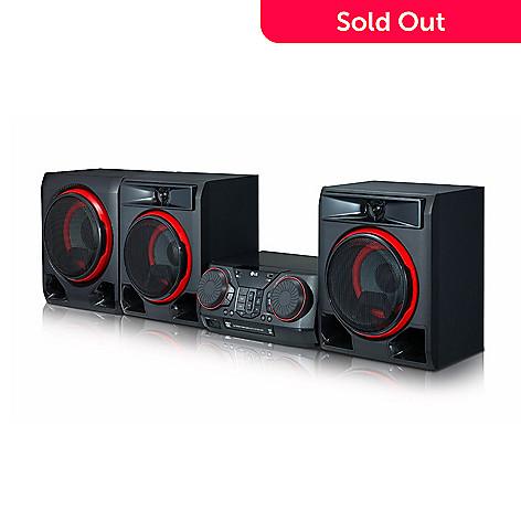 LG Choice of Watt Bluetooth Speaker System w/ CD Player & FM Tuner