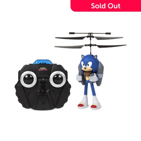World Tech Toys Sonic Boom Sonic The Hedgehog 2 5ch Ir Remote Control Helicopter Drone Shophq