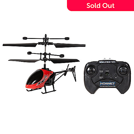 World Tech Toys Hornet 2ch Ir Rc Helicopter W Remote Shophq