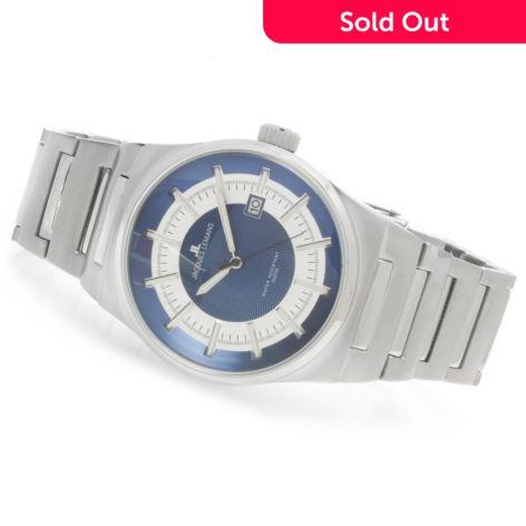 Jacques Lemans Men S Sport Nevada Quartz Stainless Steel Bracelet Watch Shophq